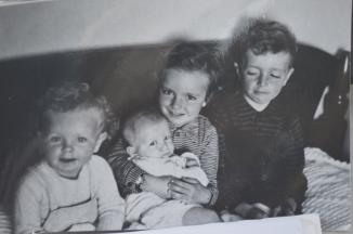 Harold, Rinske, Janie and Wendy