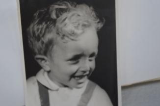 Three year old Harold