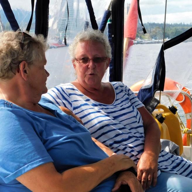 SS explaining sailing to sis.