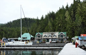 THINGS ARE QUIET AT ECHO BAY TODAY